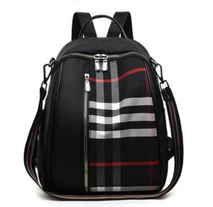 디자이너-2020 핫 판매 여성 남성 남여 격자 배낭 새로운 트렌드 십 대 학교 가방 커플 다시 팩 여행 가방을 바둑판