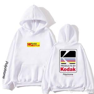 Japanese Hip Hop Winter Fleece Mens Hoody Harajuku kodak Jackets Men Women Sweatshirts Dropshipping New 2020 Hot Selling Hoodies