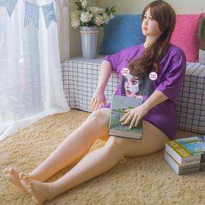 La venta de medio silicona TPE muñeca del amor Maniquí adulto Sexo Oral Vagina Sexo anal Doll juguetes atractivos para los hombres de Mama Big Big Culo realista muñecas