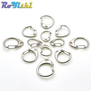 50pcs lot Keyrings Silver Keychain Split Ring High Quality Key Chains DIY Making Accessories
