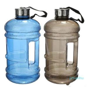 Grande 2.2 L mezzo gallone di allenamento di ginnastica Esecuzione Convinients fitness brocca di acqua della bottiglia della bevanda di trasporto libero FC01