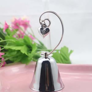 Place Chrome Photo Bell Holder Card Shower Charming DHL Dangling Heart Charm 1168 Heart With Free Gift Wedding Favors Baby Fwius