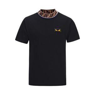 유럽과 미국의 의류 FF 셔츠 고품질 인쇄는 메두사 라벨 남성의 아시아 T 셔츠를위한 완벽한 선택입니다.