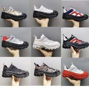 Designer Herren Schuhe 19FW Arthur TB Frauen-Plattform-Turnschuhe Vintage-Canvas Suede Lace-up-Trainer Flache Außen Wandern Freizeitschuhe mit Box