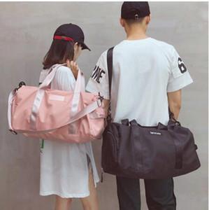 Yoga Mat Bag Fitness Gym Bags Dry Wet Tas Bolsos para mujeres Hombres Zapatos Travel Training sac De Sport bolsa gymtas Duffel