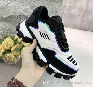 2019 Men Women fashion Designer Casual Shoes Sneakers Cushion Triple S 3.0 Combination Nitrogen Outsole Crystal Bottom Dad Casual Shoes Sne