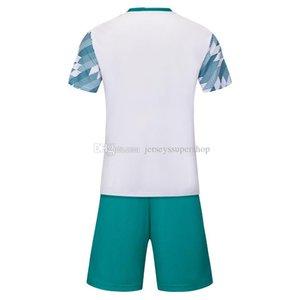 FC Blanc Football Maillots Hommes Lastest Vente chaude vêtements d'extérieur Football Vêtements de haute qualité SS
