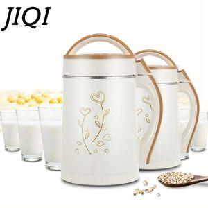 Jiqi 2L leche de soja de la máquina de Hogares de soja fabricante de leche de acero inoxidable-Filter Free frijoles de soya Leche Calefacción Exprimidor de moler grano