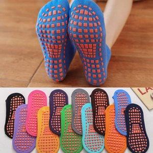Kids Non - slip floor socks trampoline socks cotton children 's amusement park indoor socks ankle new dispensing non-slip