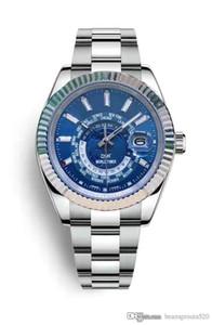 B291 Дизайнерские часы SKY-DWELLER движение часы Роскошные часы Master M326934 m326938, m326933 m326935, m326939, 42 мм линия, складной CLA