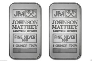 50 PC The Non magnetic Johnson Matthey badge brass core silver gold plated bar 50 mm x 28 mm 1 OZ JM decoration souvenir coin bar