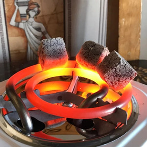 시샤 석탄 버너 500W 전기 스토브 핫 플레이트 철 버너 여행 휴대용 조리기구 커피 히터 치차 EU 플러그