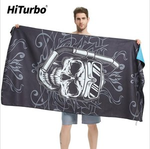 Quick-drying Towel Travel Portability Thin and soft Swimming Beach Towel Absorbent Quick Drying Towel Microfiber Double-sided Velvet
