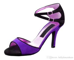 XSG trasporto libero scarpe da donna fondo morbido in scarpe col tacco alto di ballo latino di ballo ballo Square Dance scarpe femminili danzanti