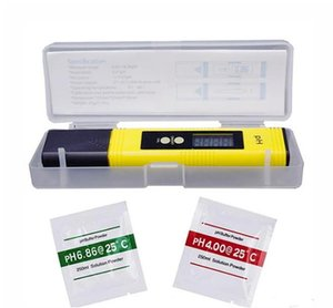 2019 New Protable Digital PH Meter 0.00-14.0 PH Tester for Aquarium Pool Wine Automatic Calibration Water Quality Monitor Measuring tools