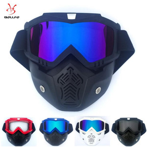 sürme gözlük lüks sıcak kar gözlükleri açık Yeni serin bir retro tasarım maske gözlük üst seviye motokros yarış gözlüğü