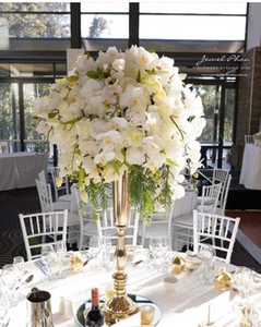 New alta grande ferro centrais de árvore de casamento atacado para decoração de mesa de casamento best01241