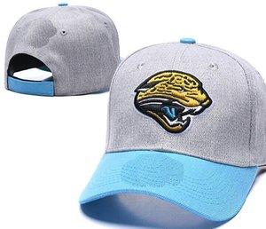 2020 gorra de béisbol del casquillo del Snapback barata de calidad superior de las mujeres de los hombres de ala curvada Strapback hueso casquillo del fútbol Jacksonville sombreros JAX