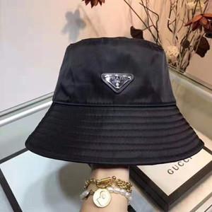 atacado SunBucket moda viagens de luxo verão chapéus protegido pesca de alta qualidade monocromáticas Bob Boonie balde chapéus de verão chapéus