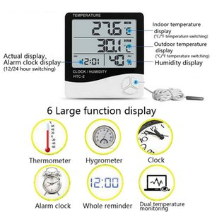 LCD Thermometer Hygrometer Electronic Digital Outdomor Thermometer Hygrometer