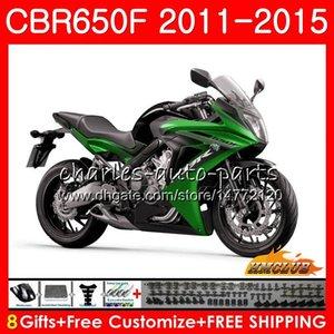 Corpo para Honda CBR650 F CBR650 CBR650F CBR 650 F lustroso 42NO.51 CBR650F CBR 650F 11 12 13 14 15 16 2011 2012 2013 2014 2015 Fairing