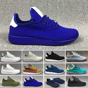 Adidas pw tennis hu 2018 DEERUPT zapatos casuales Pharrell Williams III Stan Smith Tenis HU KPU Designer Mesh zapatos casuales zapatillas deportivas 36-45