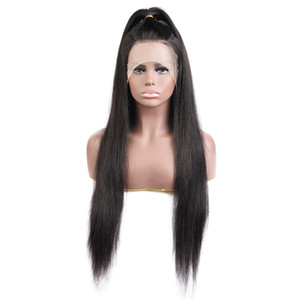 10A 투명 레이스 인간의 머리 가발 물 웨이브 느슨한 깊은 웨이브 바디 (13) * 4 인간의 머리 레이스 앞 가발 스트레이트 브라질 머리 비꼬 곱슬