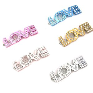 Women Letter LOVE Hair Clip Multicolor Bling Bling Rhinestone Letter Barrettes Fashion Hair Accessories Gift for Love Girlfriend