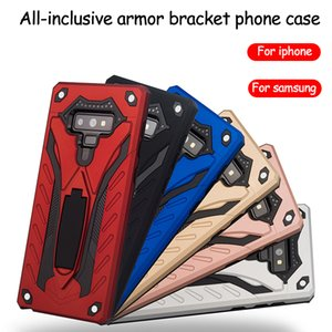 Para iphone xs max xr samsung phone case phantom Knight Armor phone case all-inclusive suporte anti-drop Suporte 10 PCS delivery