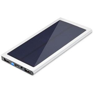 10000mAh Solar-bewegliche Energien-Bank Solar-Ladegerät für iPhone 7 Samsung S6 S7