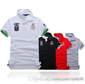 2018 Poloshirt Solid Polo Shirt Men Luxury Polo Shirts Long Sleeve Men's Basic Top Cotton Polos For Boys Brand Designer Polo Homme
