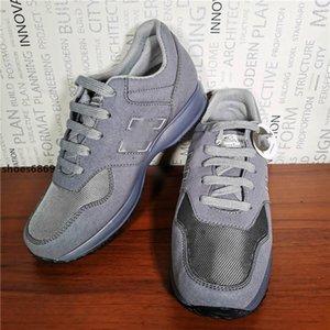 2020 высокого качества роскоши метанию замши материала высокого качества TAn мужчин на практике коричневый интерактивные открытый H повседневная обувь