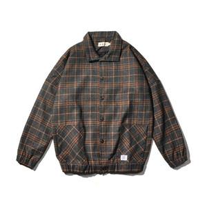 Chaqueta de lana capa de los hombres Ropa de Calle Bombardero chaqueta de los hombres de Hip Escudo para hombre chaquetas y abrigos 5XL Otoño Invierno Hop