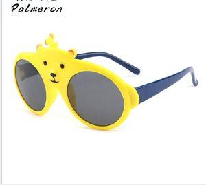 New Kids Cartoon Bear Polarize Güneş Gözlüğü