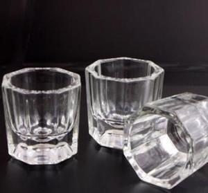Crystal Glass Dappen Dish Lid Bowl Cup Crystal Glass Dish Nail Art Tools Acrylic Nail Art Equipment Mini Bowl Cups