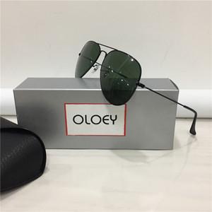 Gafas de sol para hombre de los vidrios de los hombres gafas de sol de marco para mujer Gafas de sol Gafas de sol de cristal Ourdoor Full Rim Sunglass Tamaño 58-14mm con la caja 15 de 6984