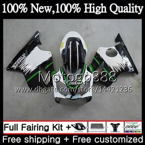 Corpo Para HONDA CBR600F4 Preto Verde CBR600 F4 99 00 FS 44PG5 CBR 600F4 99-00 CBR600 FS CBR600FS CBR 600 F4