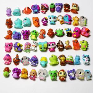 3D pequenos animais adequados para brinquedos de cápsula de ovo torção 32 exibir bonecos caneta capa coleção infantil