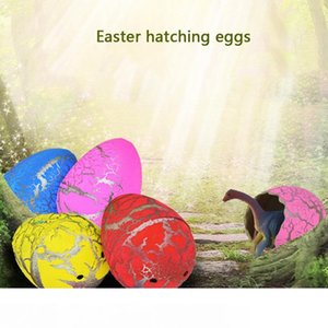 60pcs magico gonfiabile cova Dinosaur Eggs Add Water Crescere Dino Eggs capretto del bambino educativo del giocattolo di Pasqua Interessante regalo DBC DH1303