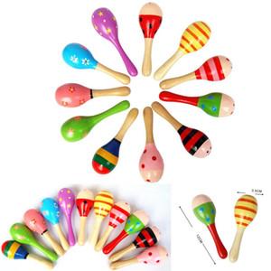 Instrumento Musical de Brinquedo Das Crianças dos miúdos Brinquedo Maraca Instrumento de Percussão De Madeira Musical para a Festa KTV Nova Chegada
