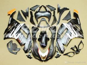 TOP qualité Nouveau kit carénage de moto ABS Pour Kawasaki Ninja 636 ZX6R 2007 2008 carénage moto sur mesure gratuite Black