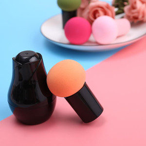 Rose Puff Mushroom Puff con mango Maquillaje Esponja Fundación Mushroom Head Rose Puff Beauty Makeup Makeup Tool 50