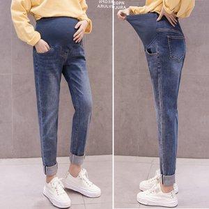 Boy Friend Jeans Calças Maternidade para grávidas Casual Mulheres Calças Jeans solto alta qualidade Gravidez Pants Maternidade roupa