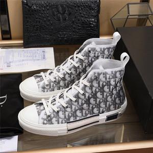 2020 Дизайнерская обувь женская дизайнер высокой пятки кожаный вскользь, работающих на открытом воздухе обувь мужчин и женщин высокий размер обуви 36-44