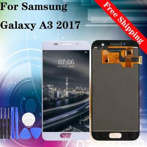 """4.7"""" Heißer Verkauf! Factory! Bester Preis! LCD-Schirm für Samsung A3 2017 A320 LCD-Touchscreen-Display TFT Helligkeit einstellbar"""