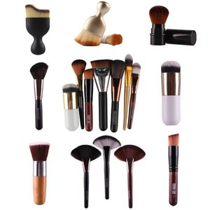 Easily Makeup 1Pcs Soft Foundation Powder Blush Makeup Brushes Face BB Cream Contour Concealer Cosmetic Beauty Angle Brush Tool