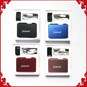 Kit Joyone autentico con Vape Pen Battery 410mAh Preheat Box Mod e Pod Cartridge Kit caricabatterie USB DHL Free 0268111