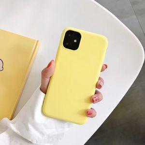 Тонкий мягкий чехол для iPhone 11 11pro max 7 8plus Оригинальный жидкий силиконовый чехол Candy Color Coque Capa для iPhone 11pro X XS XR Max