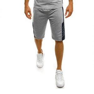 2019 gym Fashion Trend New Tight Sleeveless Shorts Sports Fitness Basketball Sweat Dry gym Men's Shorts