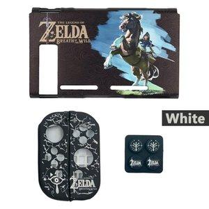 Nintend Mudar caso capa protetora Shell Silicone Jon-Con Controlador Grips Thumb vara Caps Nintendos Mudar Acessórios